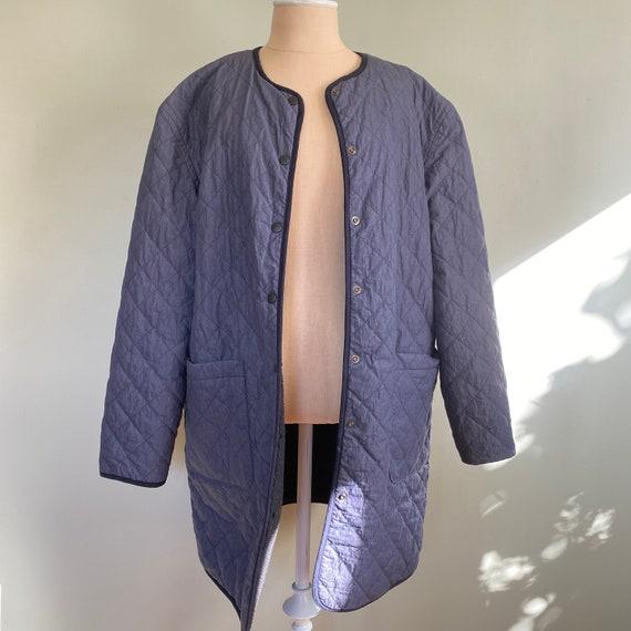 Vintage Navy Quilt Liner Jacket | Mens & Womens |