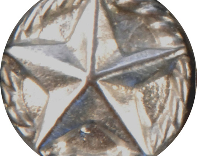 BU-180 Texas star Button 5/8th