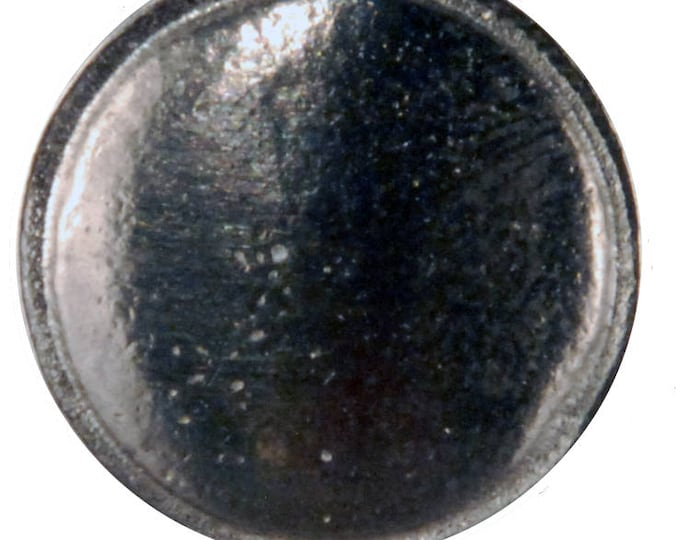 "5/8"" Domed button with rim - BU 108"