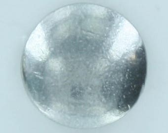 """BU-106 High dome button 3/4"""" Bright and eye catching on Military clothing, Hand made  in USA"""