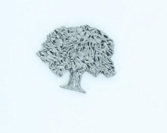 Oak Tree Pin