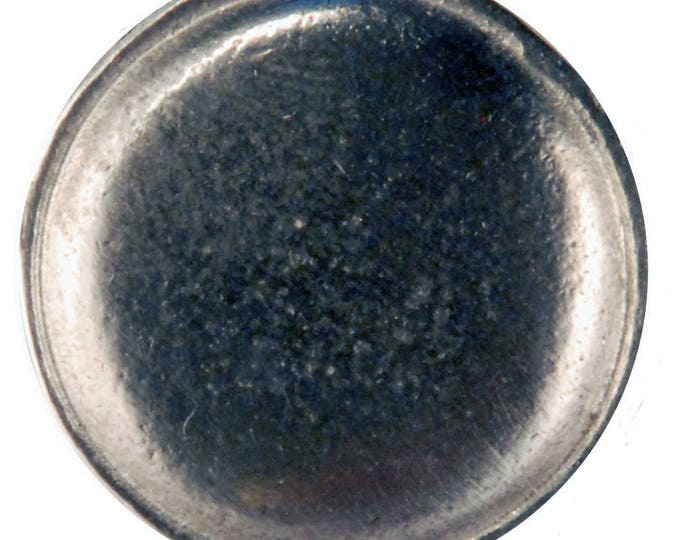 B-110 Domed button with rim 7/8""