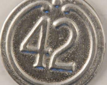 42nd Regiment button