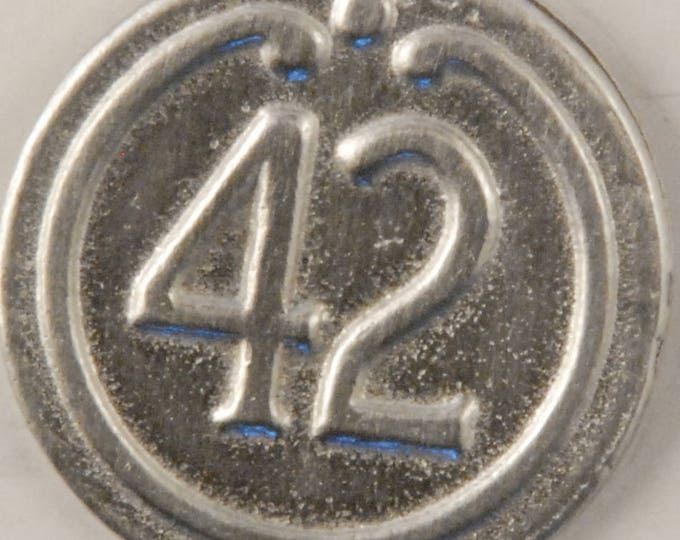 42nd Regiment button