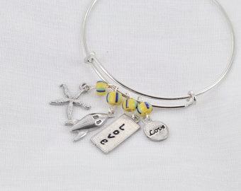 DIY  Bracelet from sunshine to rockets!