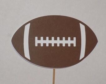 Football Cake Topper Etsy