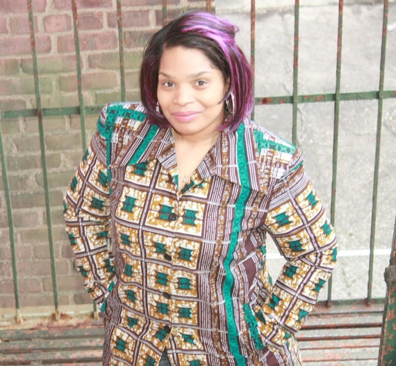 to African African Ready Ankara Ankara Blazer Jacket Blazer Ship Clothing Jacket African Spring Dress qH4txvAwS