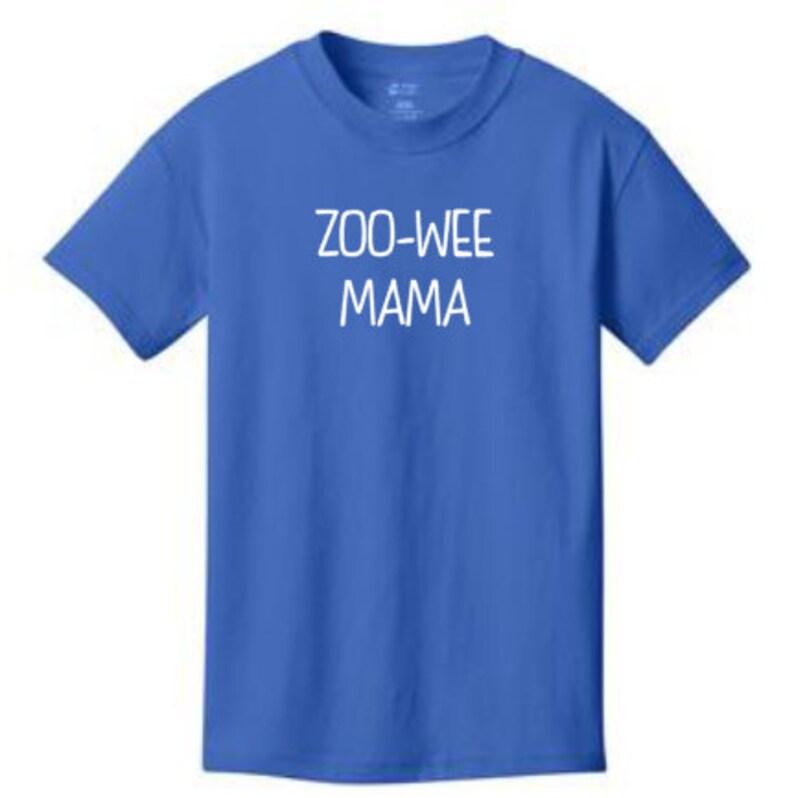 52cba116 ZOO-WEE MAMA tshirt inspired by Diary of a Wimpy Kid many | Etsy