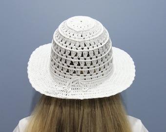 e96972f48 Purple sun hat woman Crochet summer hat Beach hat for women   Etsy