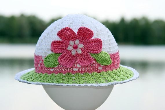Beach Hut häkeln Hut Kleinkind Hüte Mädchen häkeln Sonnenhut   Etsy