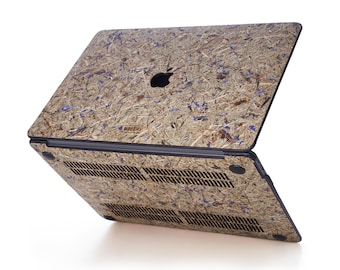 Macbook Protective Hay Case for Apple Mac Air Pro 13 15 16 inch - Cornflower Hay Mac book Case - Mac Cover - Mac Case for gift