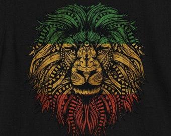 ASWAD LION DUB ROOTS REGGAE MUSIC BAND  KHAKI T SHIRT