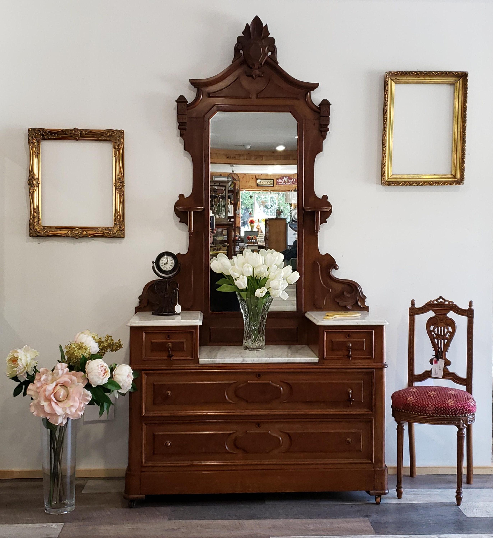 Eastlake Victorian Dresser Antique Dresser Antique Etsy