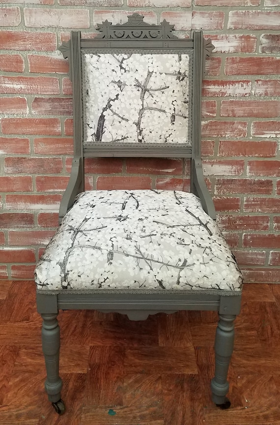 Eastlake Style Chair Painted Furniture Vintage Chair | Etsy
