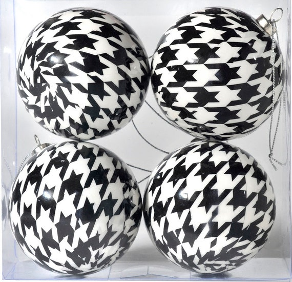 image 0 - Black And White Christmas Ornaments Black And White Etsy