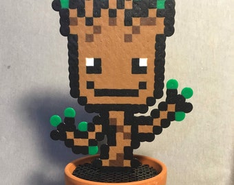 Pixel Art Groot Etsy