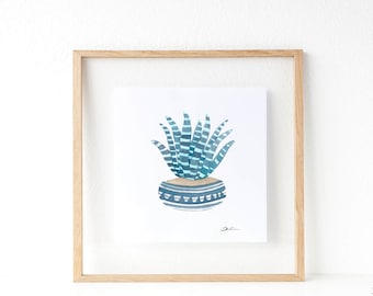 Cactus print: Succulent print | summer print | wedding favors idea | cactus wall art | cacti art | succulents and cacti. SERIES A