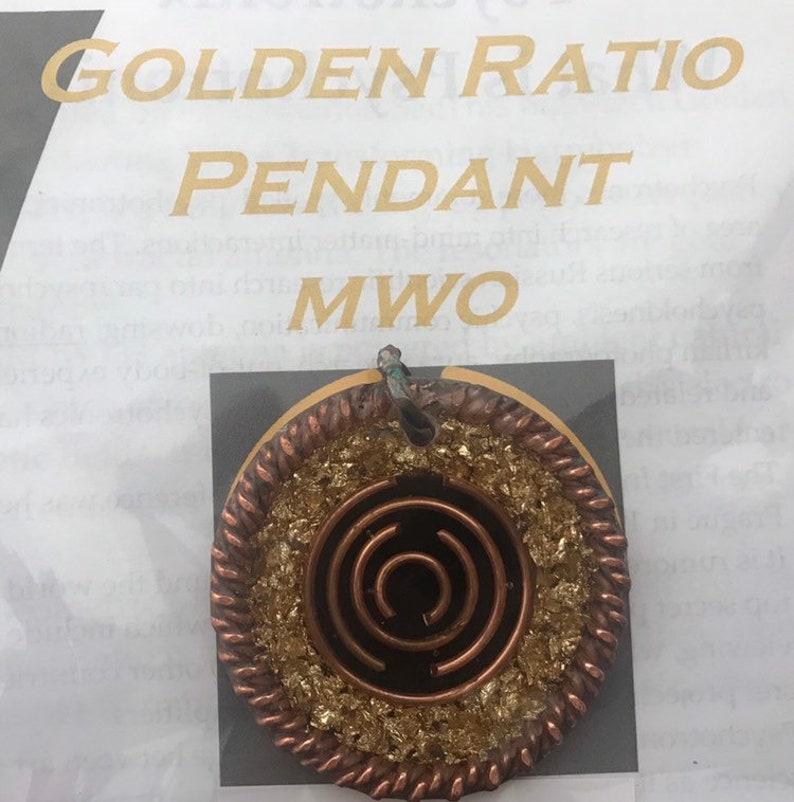 MWO Lakhovsky coil pendant inside Tensor Ring Powerful