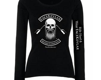 FaceKevlar Apparel: The Long Sleeved Shirt (womens)