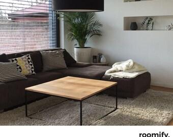 Roomify Couchtisch DOMI Black   Loft, Design, INDUSTRIAL Wohnzimmertisch  INDUSTRIEDESIGN