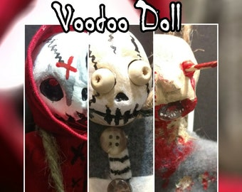 Voodoo Doll for Protection - Your Choice