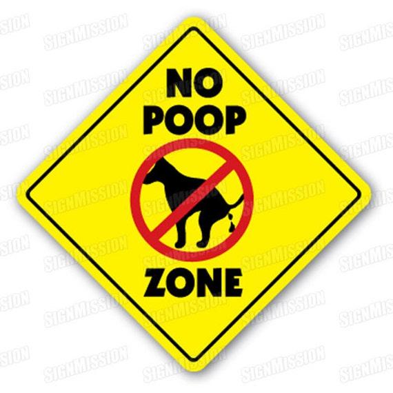 Zona Limpiar Muestras De Caca Ninguna Del Animal Doméstico Mierda Señal Recoger Perro W29EIDH