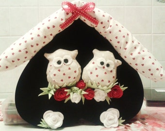 Outdoor Playhouse with owls