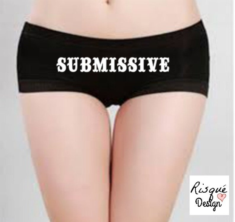 Submissive Panties