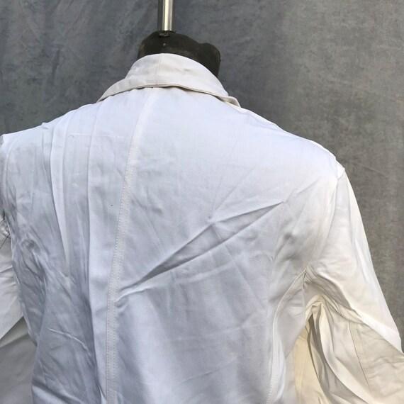 deadstock 50s french workwear barman jacket au mo… - image 8