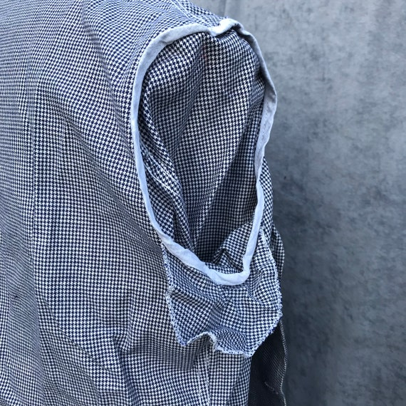 deadstock 60s butchery jacket vintage french work… - image 10