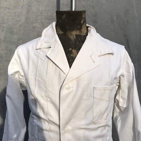 deadstock 50s french workwear painter jacket - image 2