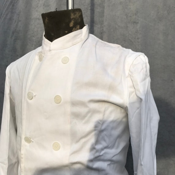 deadstock 50s cook jacket au molinel french workw… - image 2