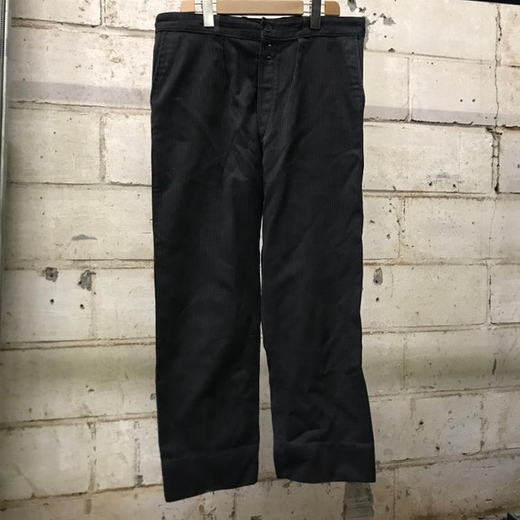 70s pants vintage french workwear