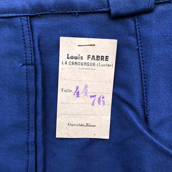 deadstock 40s moleskin pants louis fabre 44 vintag