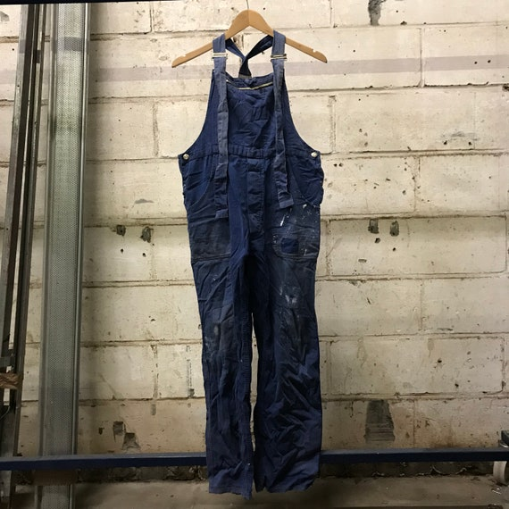 vintage 60s overall french workwear