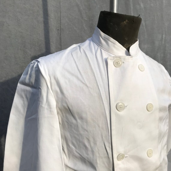 deadstock 50s cook jacket au molinel french workw… - image 4