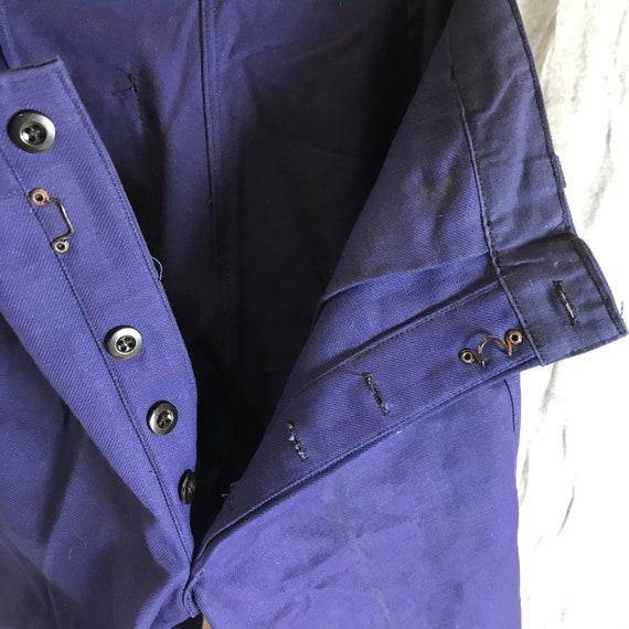 deadstock 50s catamaran pants vintage french work… - image 8