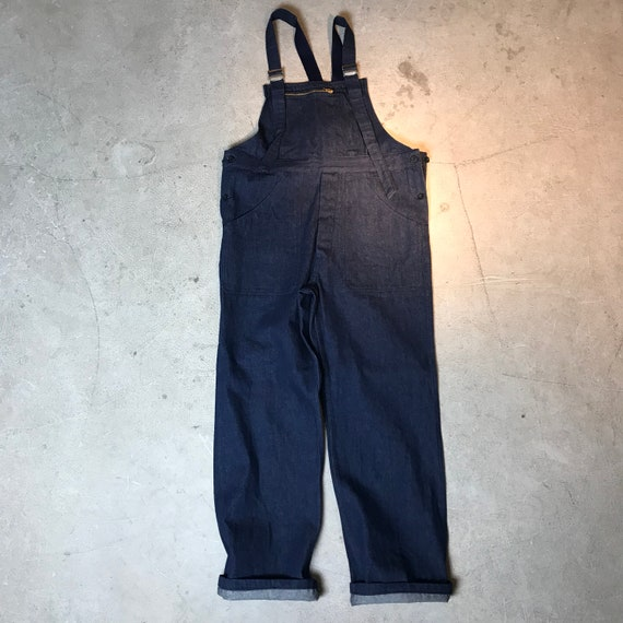 deadstock 50s Vintage French Denim Overalls French