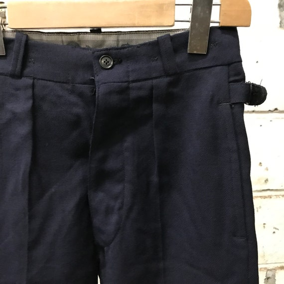 deadstock 60s pants martingale french workwear vi… - image 2
