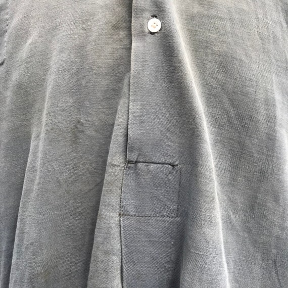 20s vintage french workwear grand pa shirt - image 9