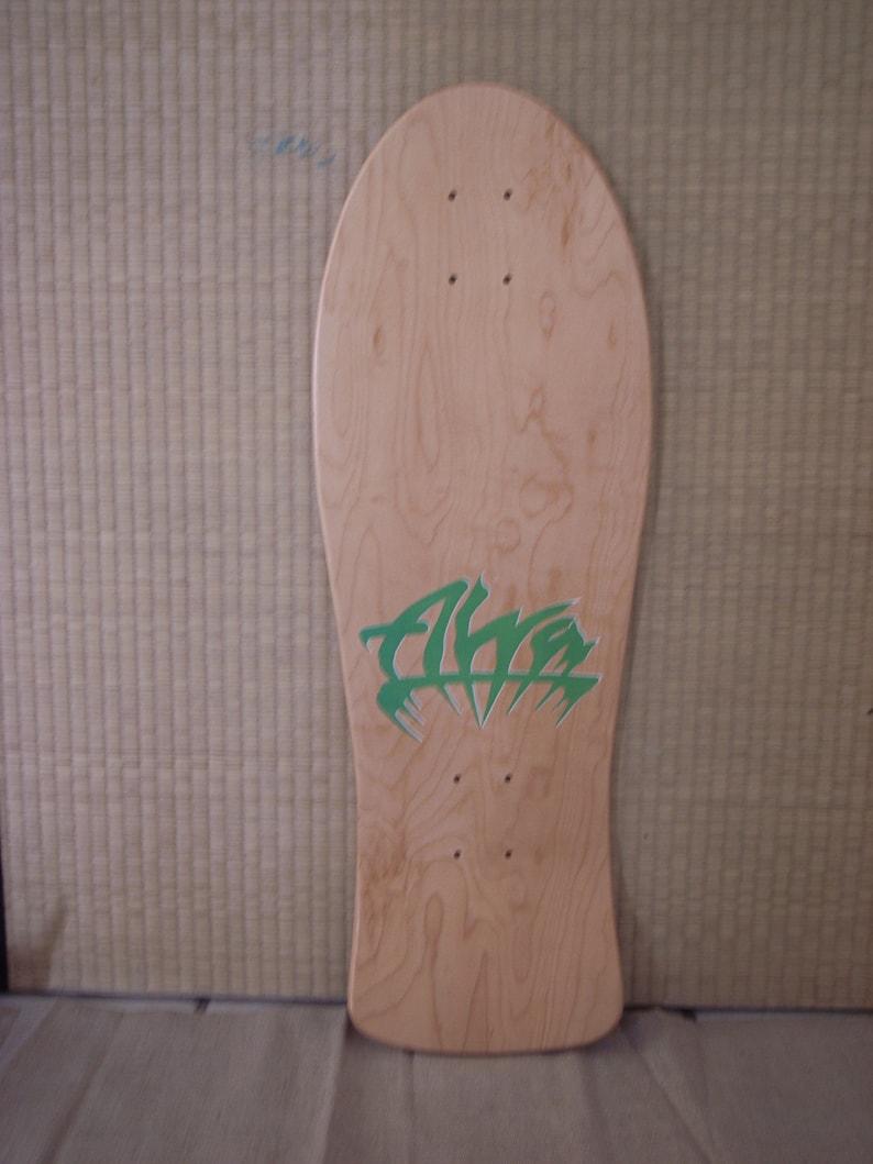 Rare vintage NOS 1986 Chris Cook for Alva skateboard deck