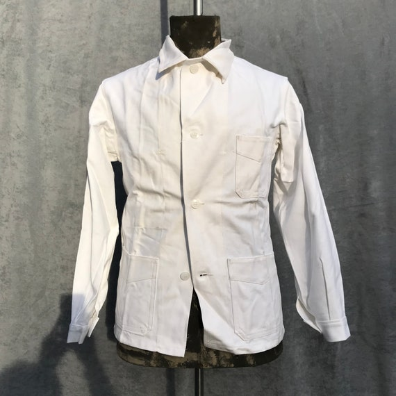 deadstock 50s french workwear painter jacket