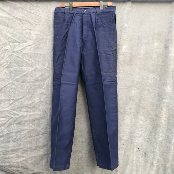 deadstock 40s moleskine pants 46 louis fabre vinta