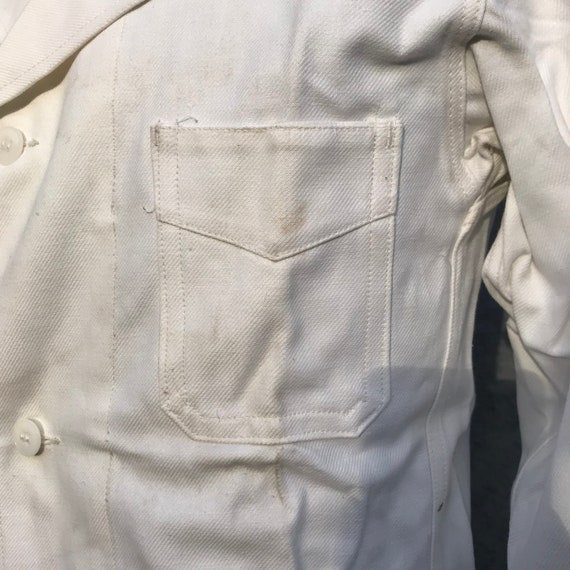 deadstock 50s french workwear painter jacket - image 3