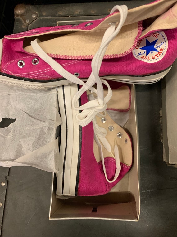 Converse 1980s made in USA deadstock size 10 1/2
