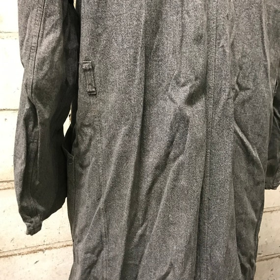 vintage 40s chambray coat french workwear maquign… - image 8