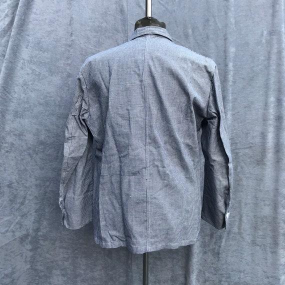 deadstock 60s butchery jacket vintage french work… - image 6