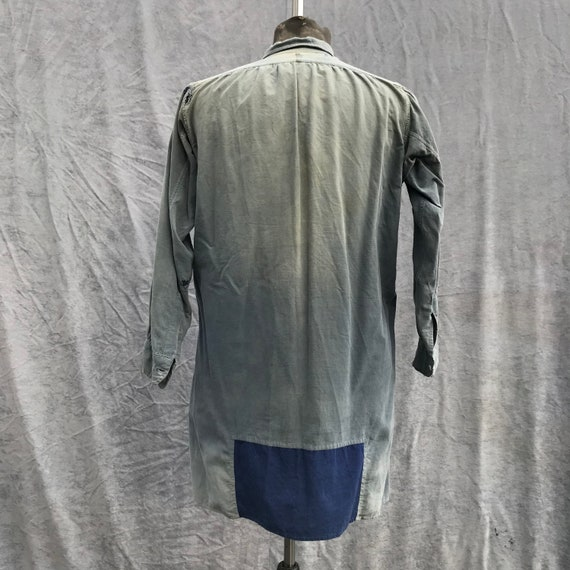 20s vintage french workwear grand pa shirt - image 6