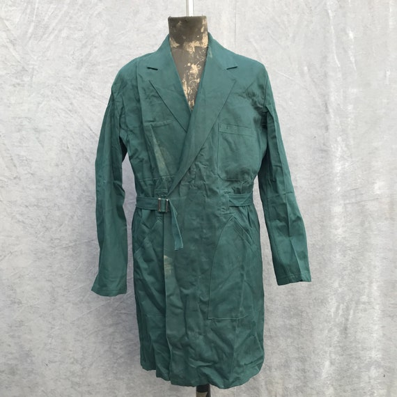 deadstock 1950s enginner coat vintage french workw