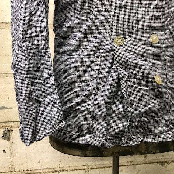 deadstock 50s butchery jacket vintage french work… - image 3